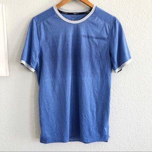 Nike Dri-Fit Blue Short Sleeve Running T-Shirt S